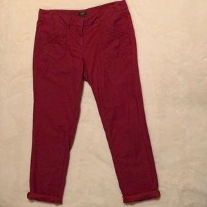 Loft Linen/Cotton Pants